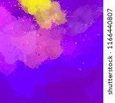 abstract digital watercolor... | Shutterstock . vector #1166440807
