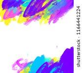 abstract digital watercolor... | Shutterstock . vector #1166441224