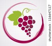 wine background. | Shutterstock .eps vector #116647117