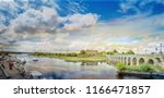panoramic colorful  landscape...