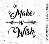 boho art lettering with... | Shutterstock .eps vector #1166485831