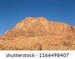 mount sinai  mount horeb  gabal ... | Shutterstock . vector #1166498407