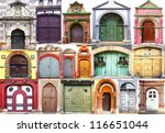 collage of the ancient unique... | Shutterstock . vector #116651044
