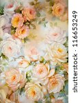 Floral Paper Background With...