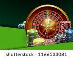 illustration online poker... | Shutterstock .eps vector #1166533081