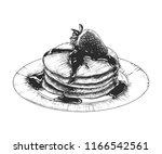 vector engraved style... | Shutterstock .eps vector #1166542561