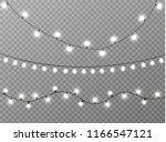 vector christmas lights ...   Shutterstock .eps vector #1166547121