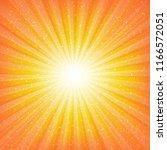 sunburst background with stars    Shutterstock . vector #1166572051