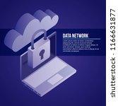 data network card | Shutterstock .eps vector #1166631877