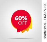 special offer sale red tag... | Shutterstock . vector #1166672311