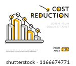 simple design of graph... | Shutterstock . vector #1166674771