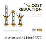 flat design of infographic... | Shutterstock . vector #1166674777