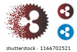 ripple insignia stamp icon in... | Shutterstock .eps vector #1166702521