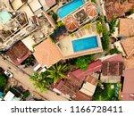 aerial view of siem reap ... | Shutterstock . vector #1166728411