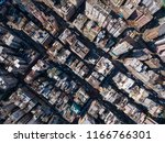 aerial view of hong kong... | Shutterstock . vector #1166766301
