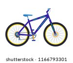vector illustration of a sport... | Shutterstock .eps vector #1166793301