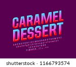 vector sweet candy glossy... | Shutterstock .eps vector #1166793574