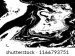 black and white liquid texture. ...   Shutterstock .eps vector #1166793751