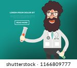 doctor vector design | Shutterstock .eps vector #1166809777