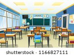 vector illustration of an empty ... | Shutterstock .eps vector #1166827111