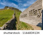 Sign  Pennine Way   Seen In Th...