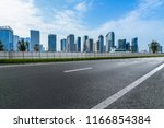 urban traffic road with... | Shutterstock . vector #1166854384