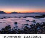 sea sunset landscape   Shutterstock . vector #1166860501