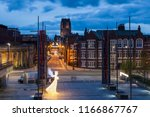 liverpool anglican cathedral.... | Shutterstock . vector #1166867767