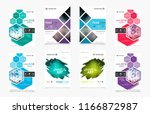 abstract vector business... | Shutterstock .eps vector #1166872987