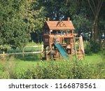childs tree house | Shutterstock . vector #1166878561