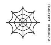spider web  halloween related... | Shutterstock .eps vector #1166898457