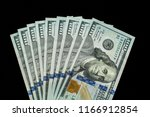 us  100 currency | Shutterstock . vector #1166912854