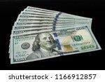 us  100 currency | Shutterstock . vector #1166912857