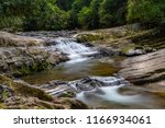 Small waterfall and stream - Taken on the Allyn River near Gresford, NSW, Australia