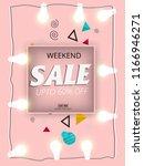 sale banner template design ...   Shutterstock .eps vector #1166946271