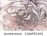 marble abstract acrylic... | Shutterstock . vector #1166951341