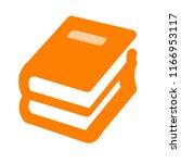 book icon  vector education... | Shutterstock .eps vector #1166953117
