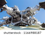 engine and blades of the...   Shutterstock . vector #1166988187