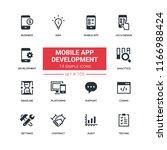 mobile app development   flat...