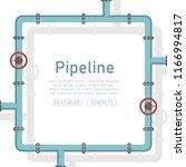 pipeline design background...   Shutterstock .eps vector #1166994817