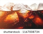 Ice Cubes In Cola Beverage ...