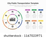 infographic for city public... | Shutterstock .eps vector #1167023971
