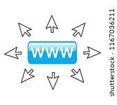 www internet sale concept    Shutterstock .eps vector #1167036211