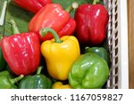 sweet chili colorful and...   Shutterstock . vector #1167059827