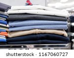 folding  clothes  on  the ...   Shutterstock . vector #1167060727