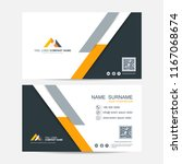 business card vector background | Shutterstock .eps vector #1167068674