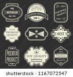 premium quality labels. set of... | Shutterstock . vector #1167072547