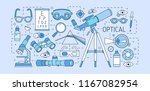 colorful web banner template... | Shutterstock .eps vector #1167082954