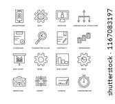 set of 16 simple line icons...   Shutterstock .eps vector #1167083197