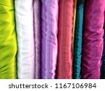 textile  with various motifs ... | Shutterstock . vector #1167106984